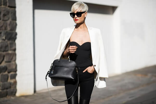 micah gianneli top fashion streetstyle short hair