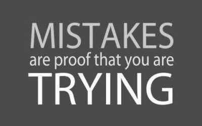 mistakes trying