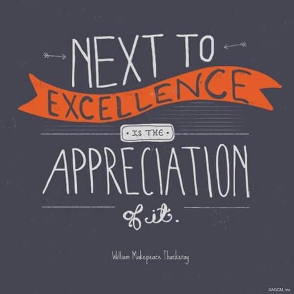 next excellence appreciation