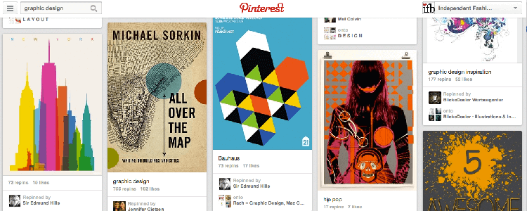 pinterest graphic inspirations