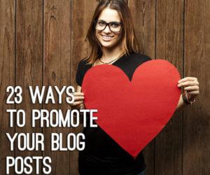 posts promotion 23 ways