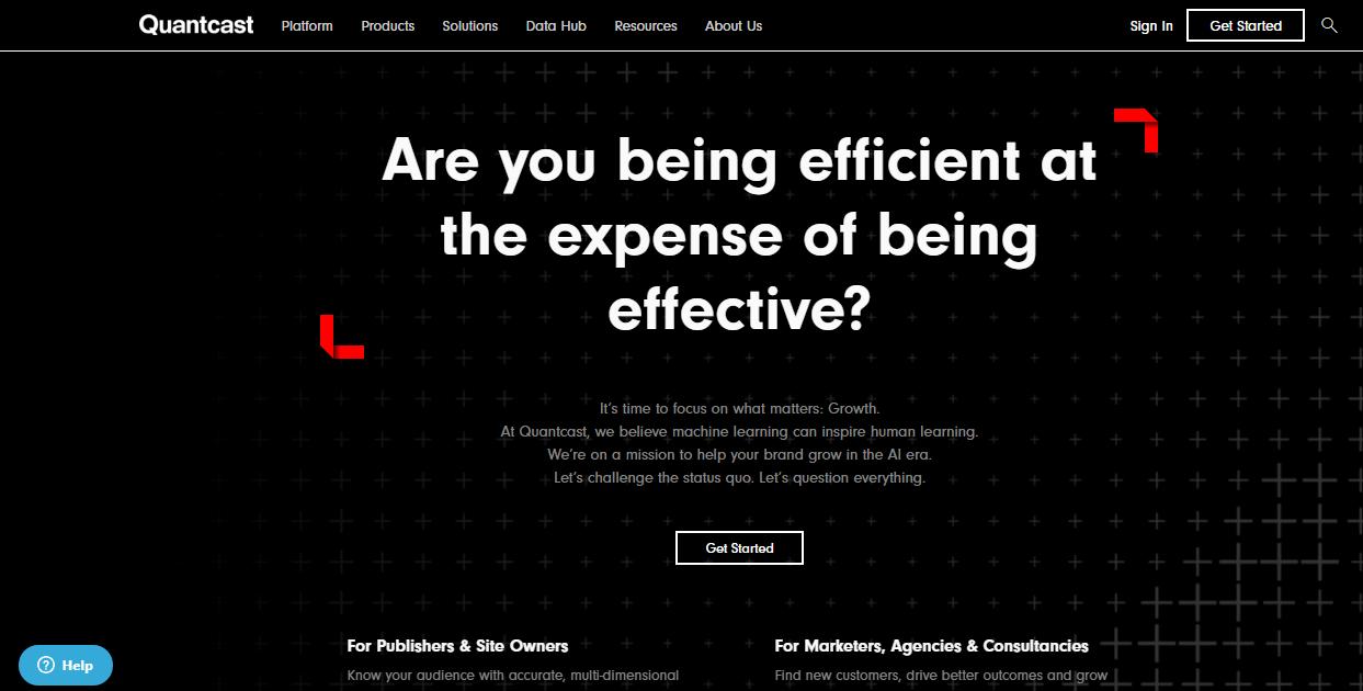quantcast website