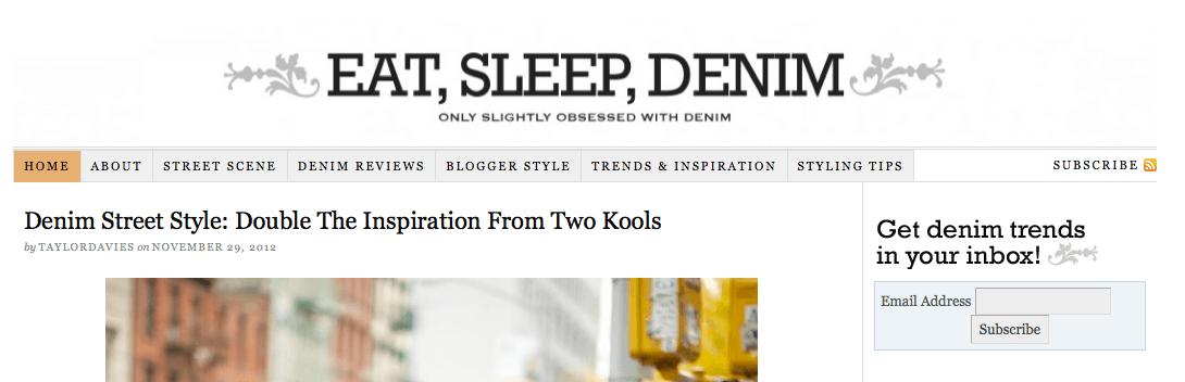 slightly obsessed denim