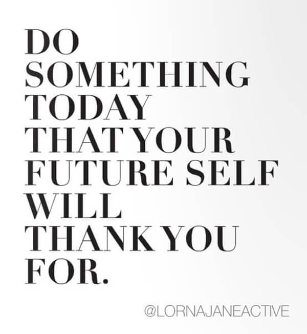 something today future self