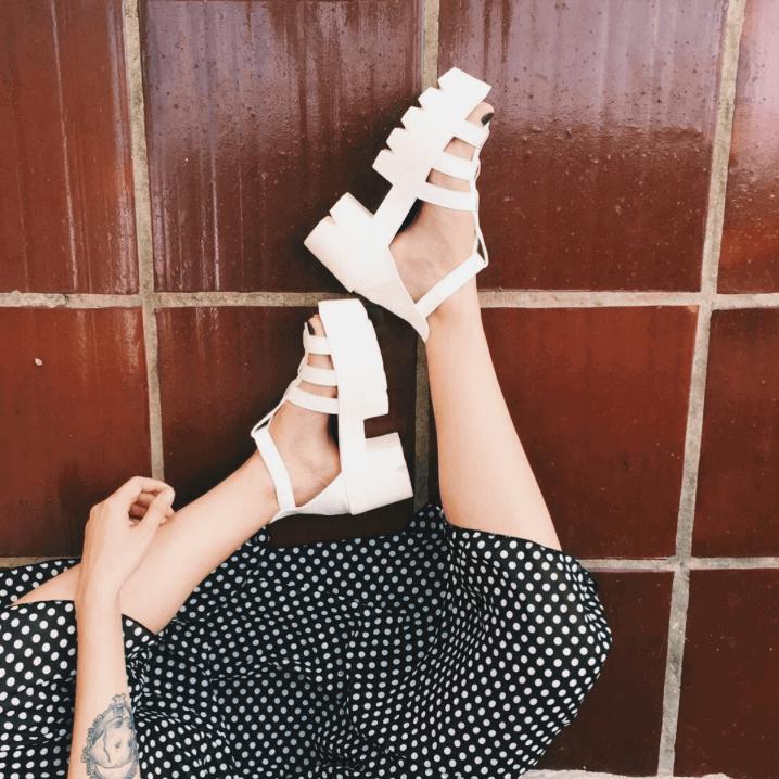sporty chic sandal