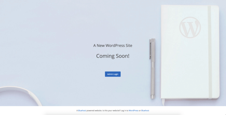 WordPress Site Coming Soon