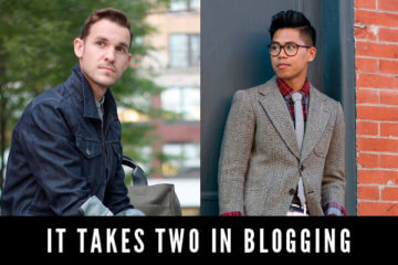 takes two in blogging