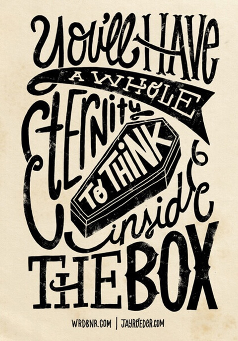 think inside box