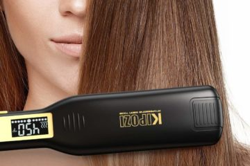 best titanium hair straightener