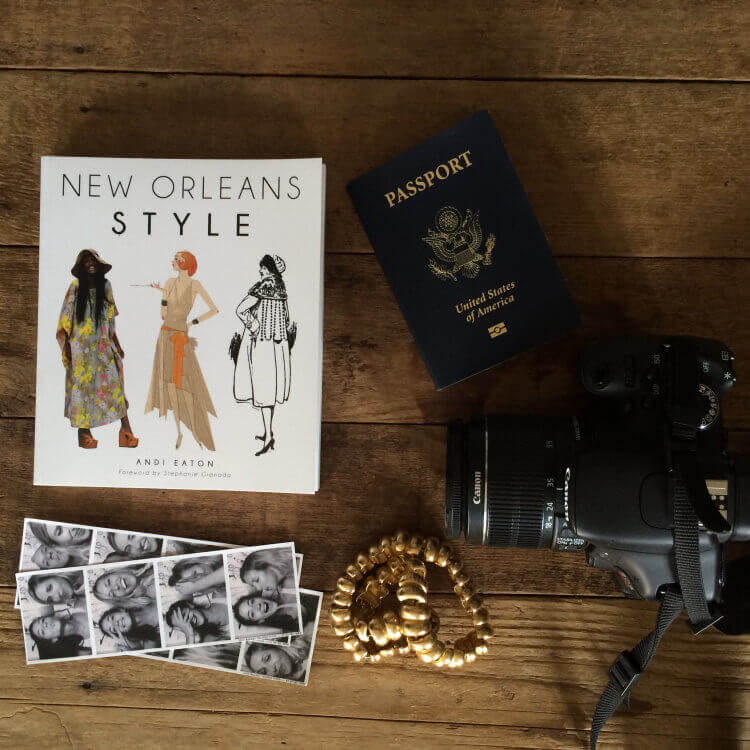 travel photographer desk passport