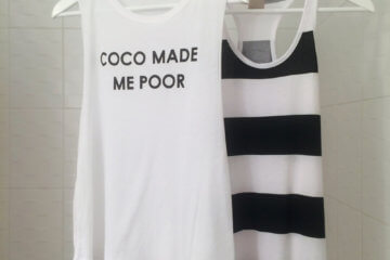 Coco made me poor shirt and dress